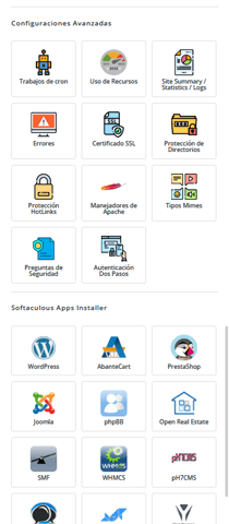 HostingSSi Client Area Homepage Mobile